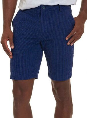 Robert Graham Striped Seersucker Shorts, Blue $148 thestylecure.com