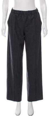 Bottega Veneta Wool Wide-Leg Pants