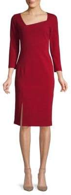 Lafayette 148 New York Three-Quarter Sleeve Sheath Dress