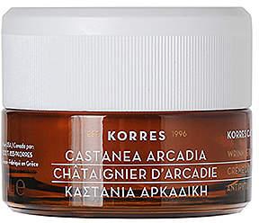 Korres Castanea Arcadia Night Cream.