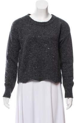 Rebecca Minkoff Merino Wool Cropped Sweater