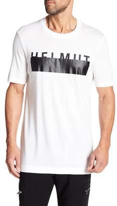 Helmut Lang Oversized Logo Crew Neck Tee