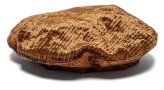 Reinhard Plank Hats - Basco Velvet Beret - Womens - Bronze
