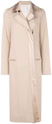 Rosetta Getty tuxedo trench coat