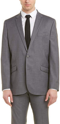 Kenneth Cole Reaction Suit With Flat Front Pant