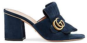 Gucci Women's Marmont Suede Sandals