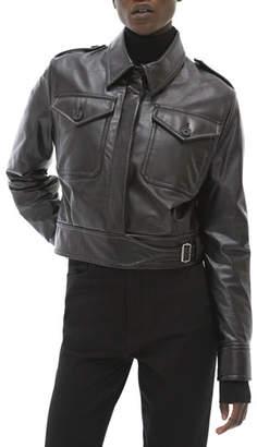 Helmut Lang Pocket Leather Jacket