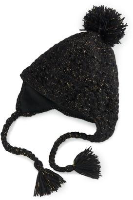 Sijjl Women's SIJJL Wool Pom Pom Peruvian Hat