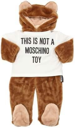 Moschino Bear Fleece Romper