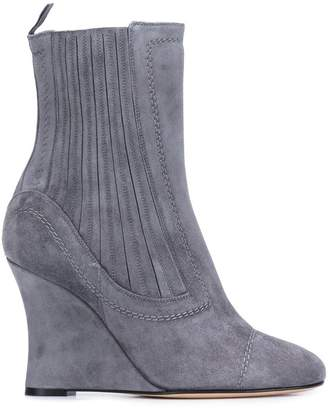 Ballin Alchimia Di ribbed wedge ankle boots