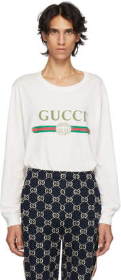 Gucci White Logo T-Shirt