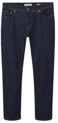 Mango Man MANGO MAN Slim-fit dark wash Jan jeans