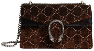 Gucci Small Velvet Dionysus Shoulder Bag