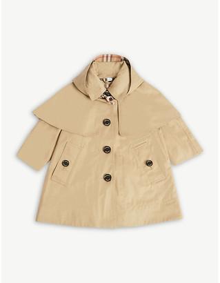 Burberry Bethel showerproof gabardine trench coat 12-24 months