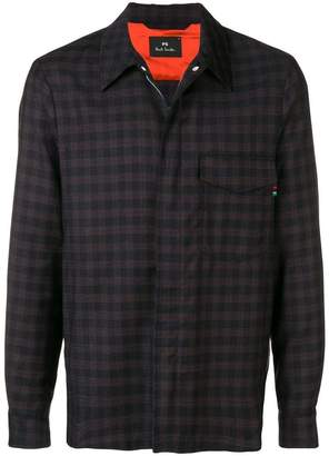 Paul Smith check pattern shirt jacket