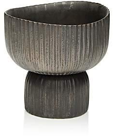 KleinReid Klein Reid Eeos Footed Small Bowl - Black