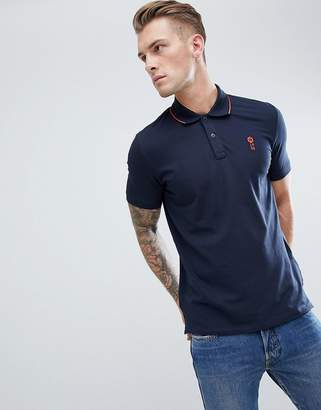 Jack and Jones Core Short Sleeve Polo Shirt with Contrast Tipping