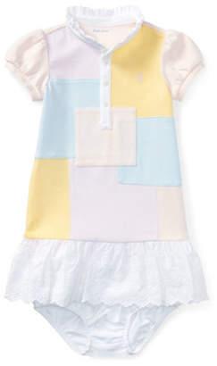 Ralph Lauren Patchwork Cotton Dress and Bloomers Set