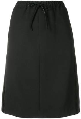 Salvatore Ferragamo drawstring skirt