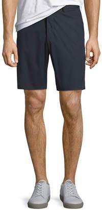 Theory Zaine S Slim-Fit Poplin Shorts