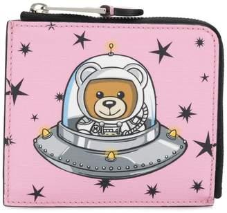 Moschino Space Teddy Bear wallet