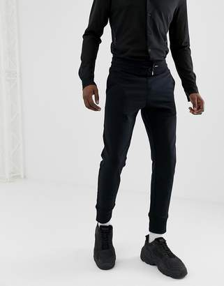 Love Moschino Skinny Joggers In Black