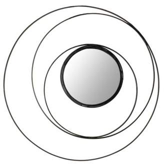 "Safavieh MIR4012 20"" Diameter Circular Mirror from the Inner Circle Collection"