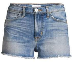 Soko High-Rise Cut-Off Denim Shorts