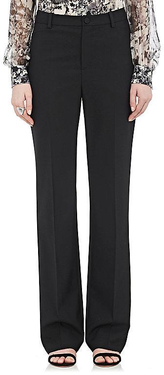 LanvinLanvin Women's Suiting Piqué Flared Trousers-Black