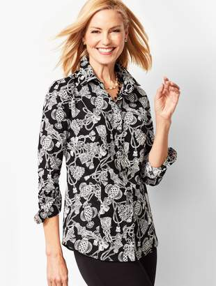 Talbots The Perfect Shirt - Bows & Tassels