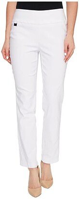 Lisette L Montreal Solid Magical Lycra Ankle Pants