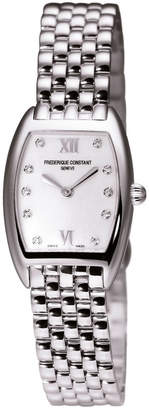 Frederique Constant Women's Stainless Steel Diamond Watch
