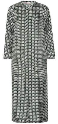 Max Mara S Panteon silk twill shirt dress