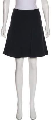 Calvin Klein Collection Wool-Blended Mini Skirt
