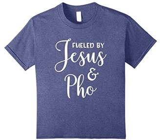 Fueled By Jesus And Pho T-Shirt