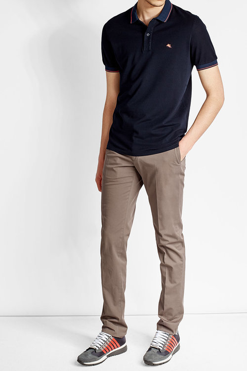 Etro Etro Cotton Polo Shirt