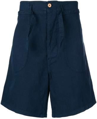 YMC flared shorts