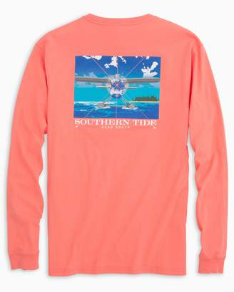 Southern Tide Head South Long Sleeve T-shirt
