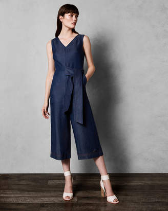 Ted Baker PIPERE Stitch detail jumpsuit