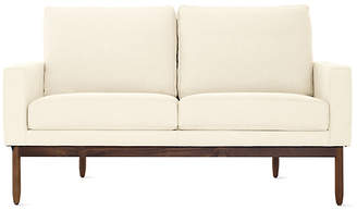 Design Within Reach Raleigh Two-Seater Sofa, Offwhite Fabric