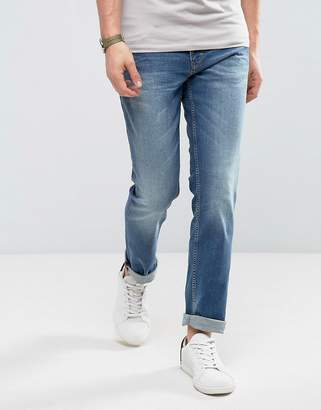 BOSS Slim Fit Denim Jean In Blue