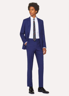 Paul Smith The Soho - Men's Tailored-Fit Indigo Wool 'A Suit To Travel In'