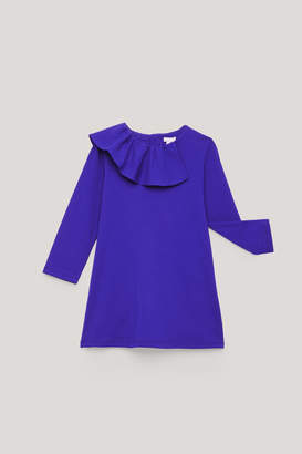 Cos FRILL-TRIMMED JERSEY DRESS