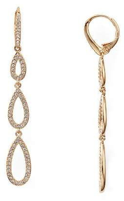 Nadri Pavé Triple Loop Teardrop Earrings