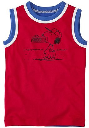 Peanuts Boys Tank in Supersoft Jersey $29 thestylecure.com