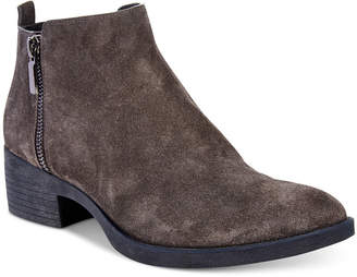 Kenneth Cole New York Women Levon Zip-Up Ankle Booties Women Shoes