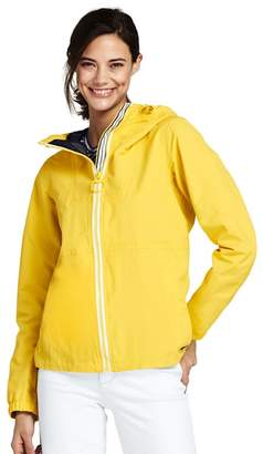 Lands' End Yellow Petite Squall Lightweight Jacket