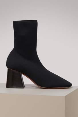 Celine Fitted ankle boots