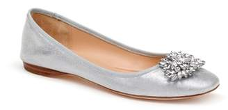 Badgley Mischka Pippa Crystal Foldable Flat