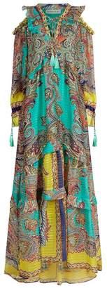Etro Paisley Silk Gown